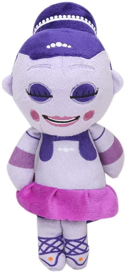 Five Nights at Freddy's Ballora Plush, FNAF Ballora Plush Doll Toy Stuffed Body Throw Pillows Figure Toys Kawaii Plush Anime Soft Stuffed Plush Toy Dolls Gift for Kids Children