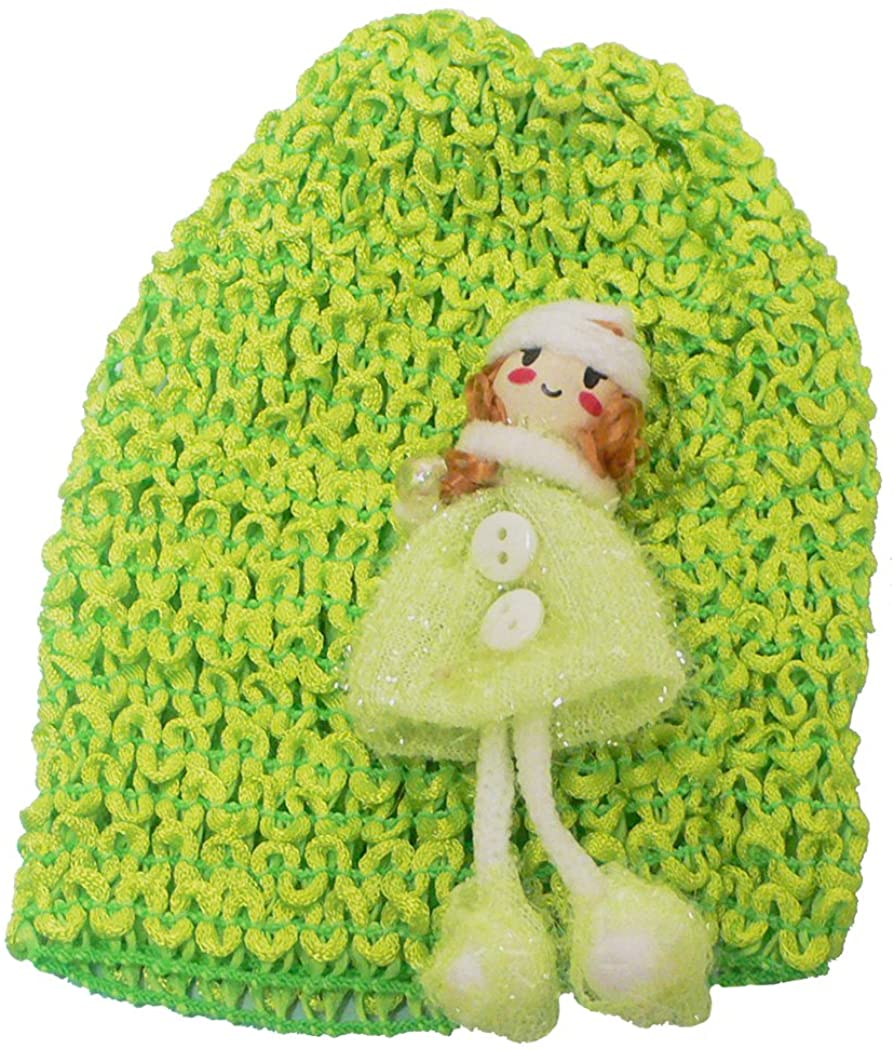 Baby Knitted Bonnet Baby Girl Hat U16250-0018