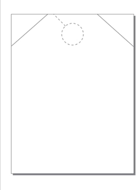 Print-Ready Jumbo Door Hanger, 8-1/2