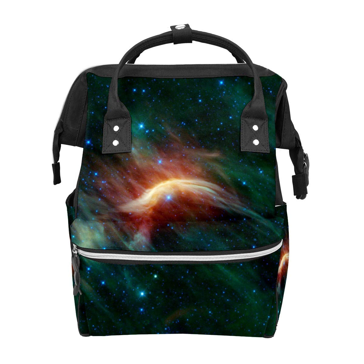 Diaper Bag Backpack Star Interstellar Universe Space Multifunction Travel Back Pack Baby Changing Bags Large Capacity Waterproof Stylish
