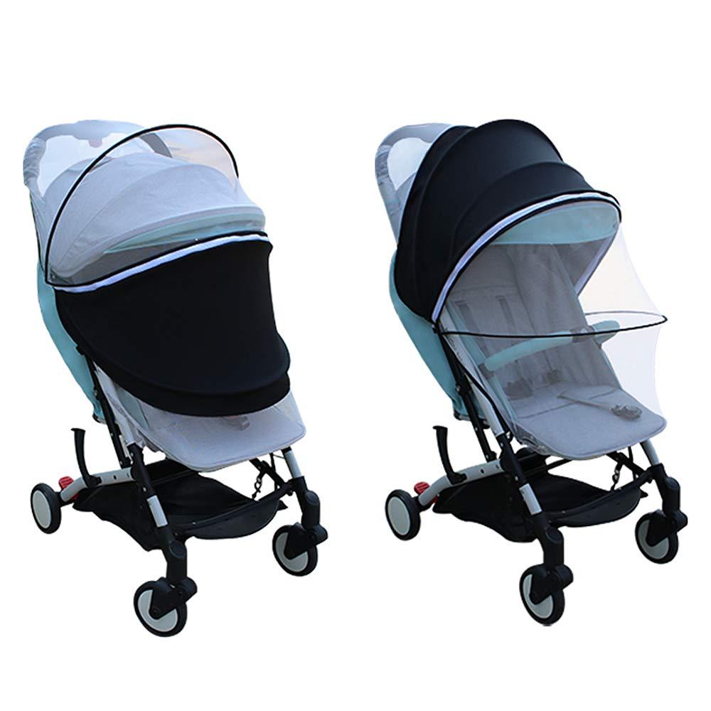 Ezkindheit Universal Sunshade Mosquito Net for Baby Stroller