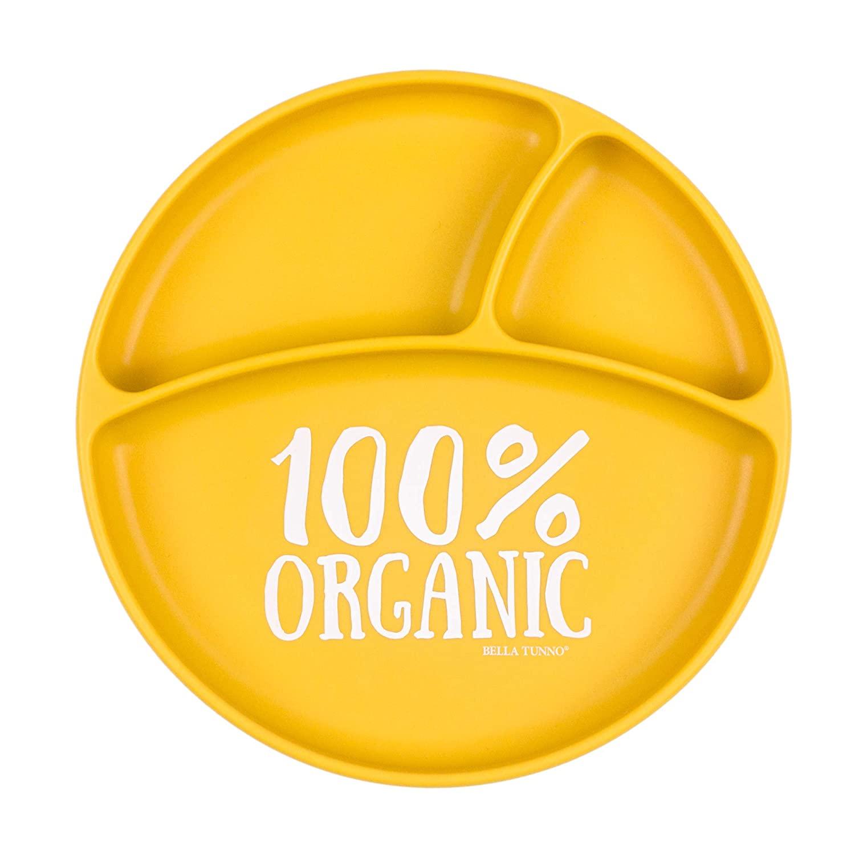 Bella Tunno Organic Wonder Plate, Yellow