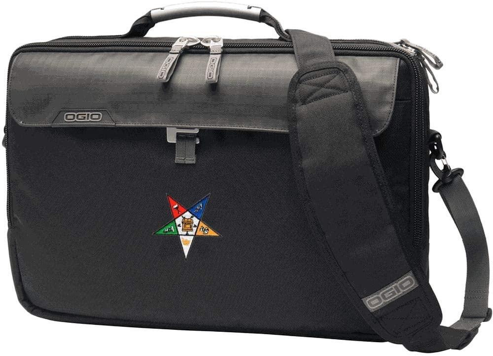 OES Order Of Eastern Star Pursuit Messenger Bag Black
