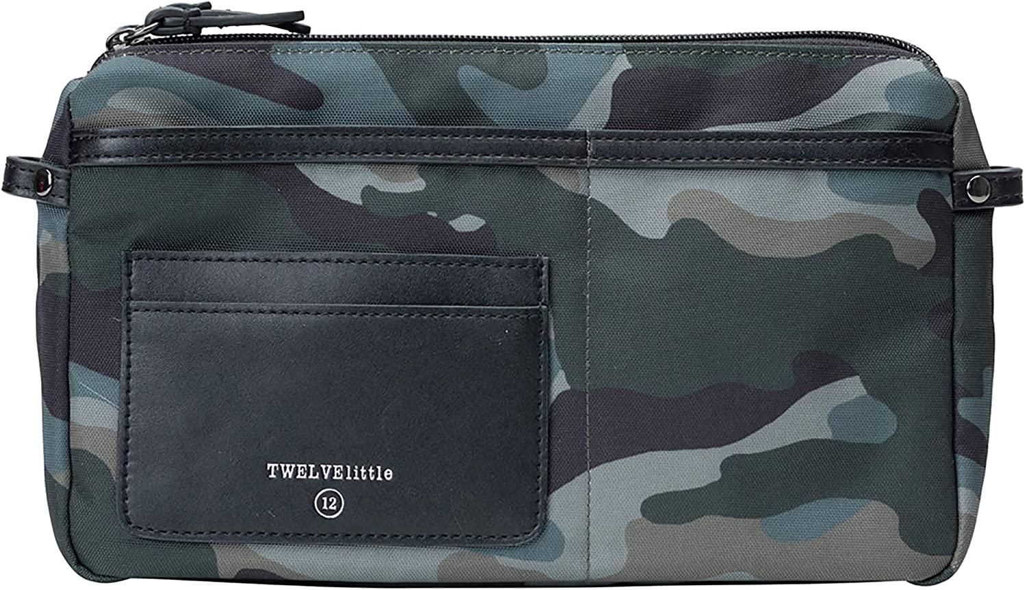 TWELVElittle by-My-Side Crossbody (Camo) - Convertible Crossbody Belt Bag, 2-Way Fanny Pack with Multiple Pockets