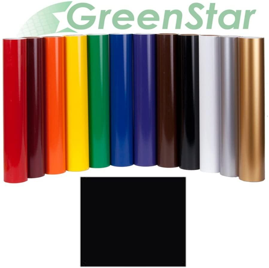 Greenstar Matte Black Sign Vinyl 24