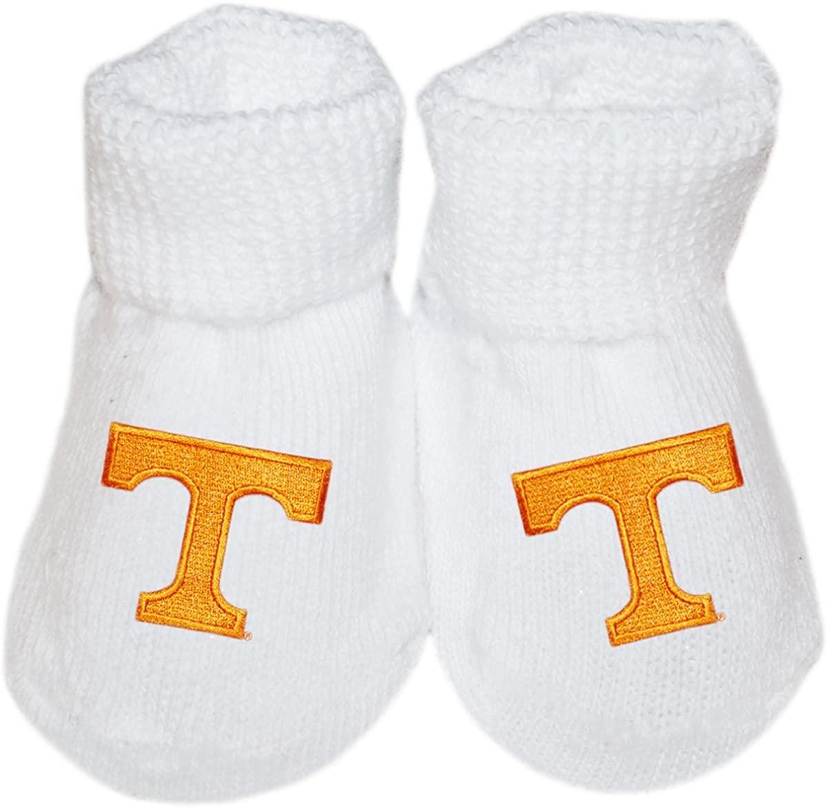 University of Tennessee Vols Newborn Baby Bootie Sock