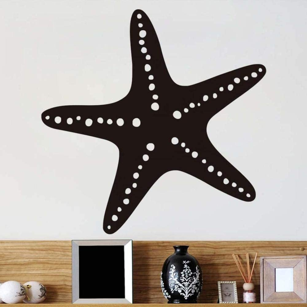vwsitc Wall Stickers Sea Star DIY Under The Sea Ocean Waterproof Wall Art Stickers Wall Decal Wallpaper for Kids Room Bathroom Home Decor 44X45Cm