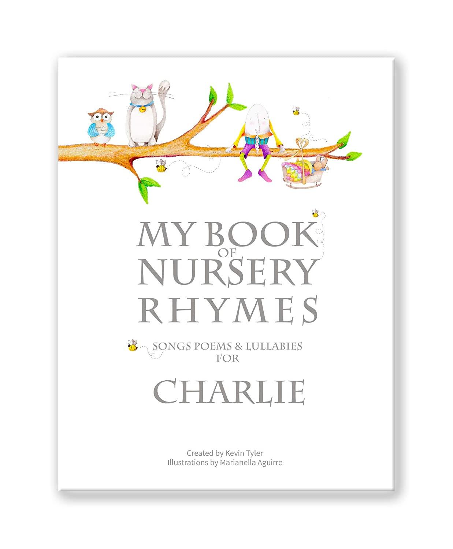 Personalized Baby or Toddler Book - My Nursery Rhymes & Poems Keepsake Classic Hardback Version