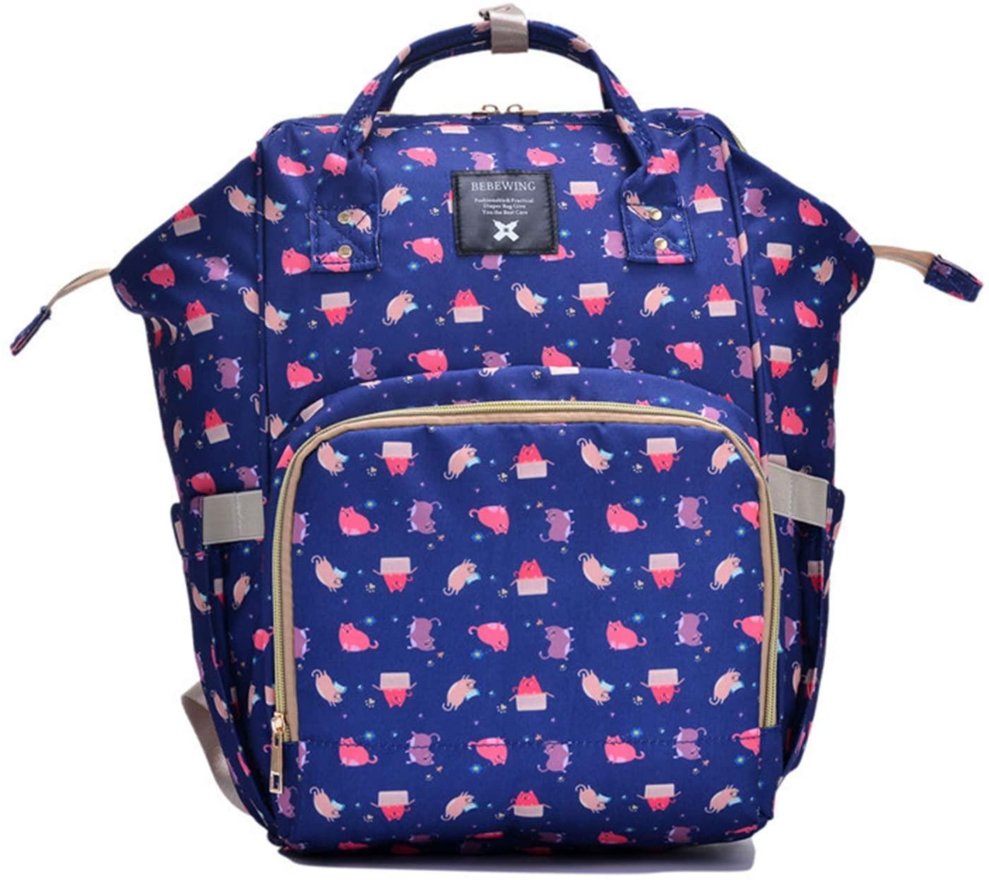 YU-NIYUT Fashion Mummy Maternity Nappy Bag Large Capacity Nappy Bag Travel Backpack for Mom Travellers Nurses Students