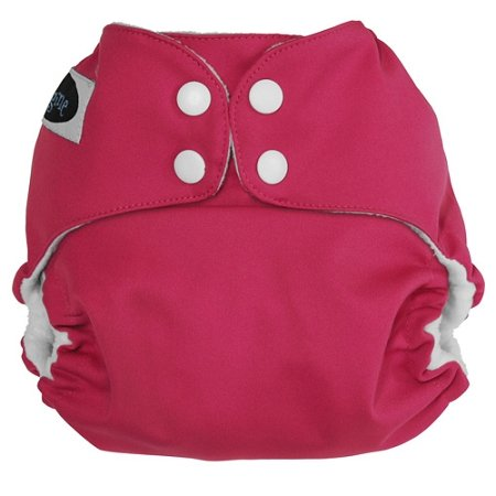 Imagine Baby Products Pocket Snap Diaper, Raspberry