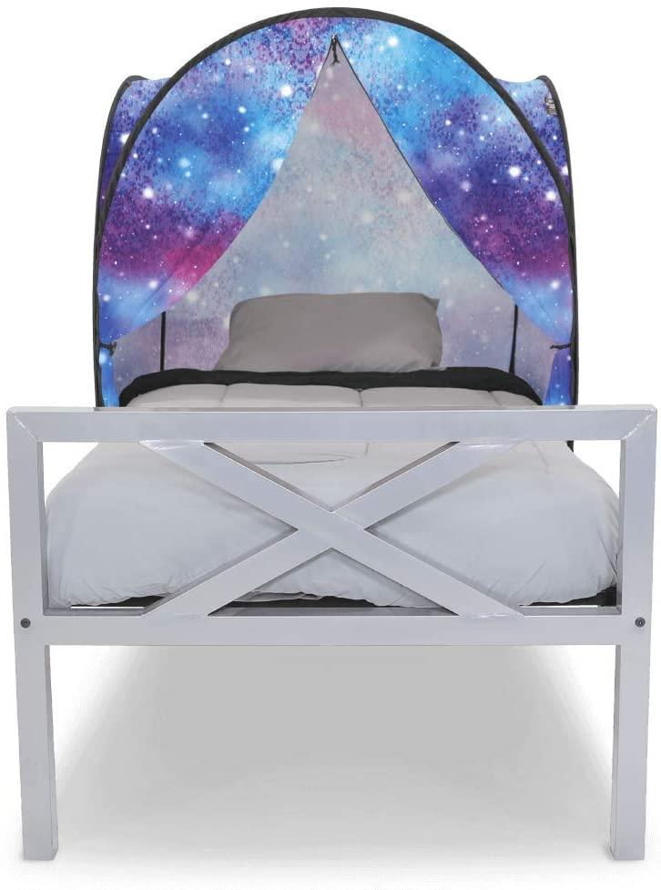 Privacy Pop Mini Bed Tent - Twin/Unicorn Galaxy