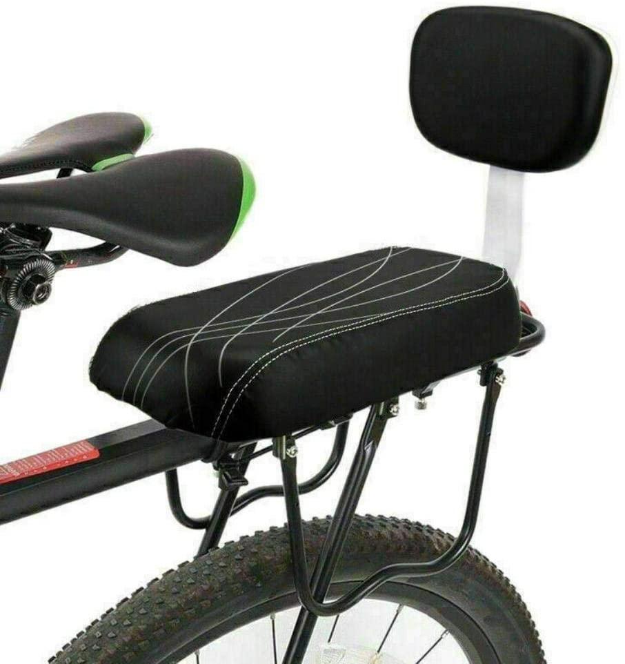 ZoeDul Bicycle Child Seat Bike Rear Cushion Baby Carrier Handrail Bracket Footrest Set^
