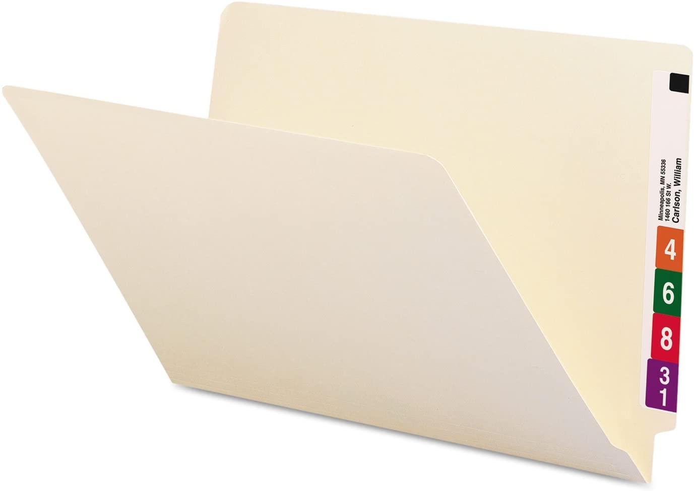 Smead Shelf-Master End-Tab Folders, 9 1/2