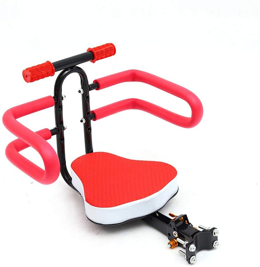 Zebery Child Bike Seat, Bicycle Child Safety Seat Front Baby Seat Bike Carrier Child Safety Carrier Mounted for 3-6Y Children Kids Toddlers