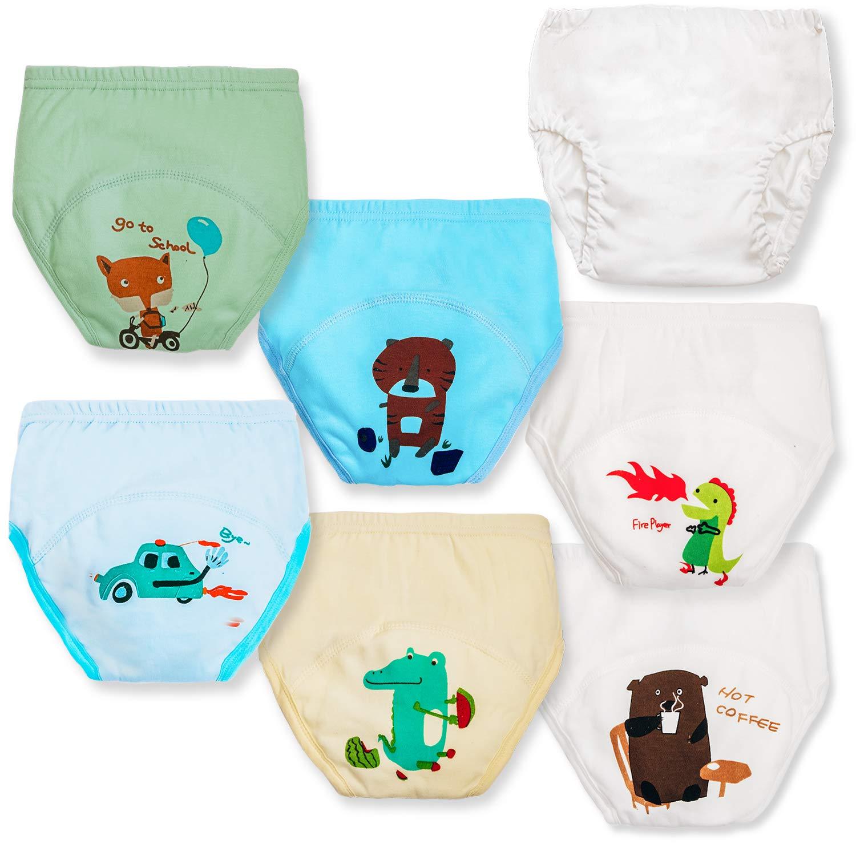 Toddler Training Underwear Boys + Rubber Pants for Toddlers Potty Training Underwear Boys Underwear for Boys 5t Boys Underwear 5t Underwear Boys Boys Underwear 5t Toddler Underwear Boys 5t