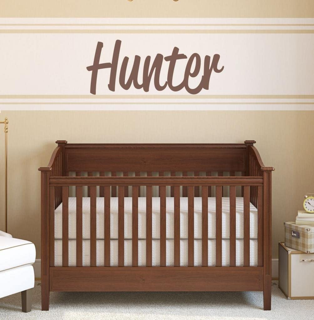 Boys Nursery Personalized Custom Name Vinyl Wall Art Decal Sticker 40