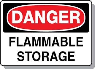 Beaed - Danger Flammable Storage - 100-0021-67S14