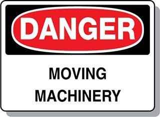 Beaed - DANGER Working Machinery