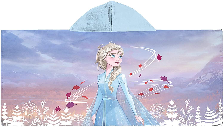 Jay Franco Frozen 2 Elsa Believe in The Journey Kids Bath/Pool/Beach Hooded Towel