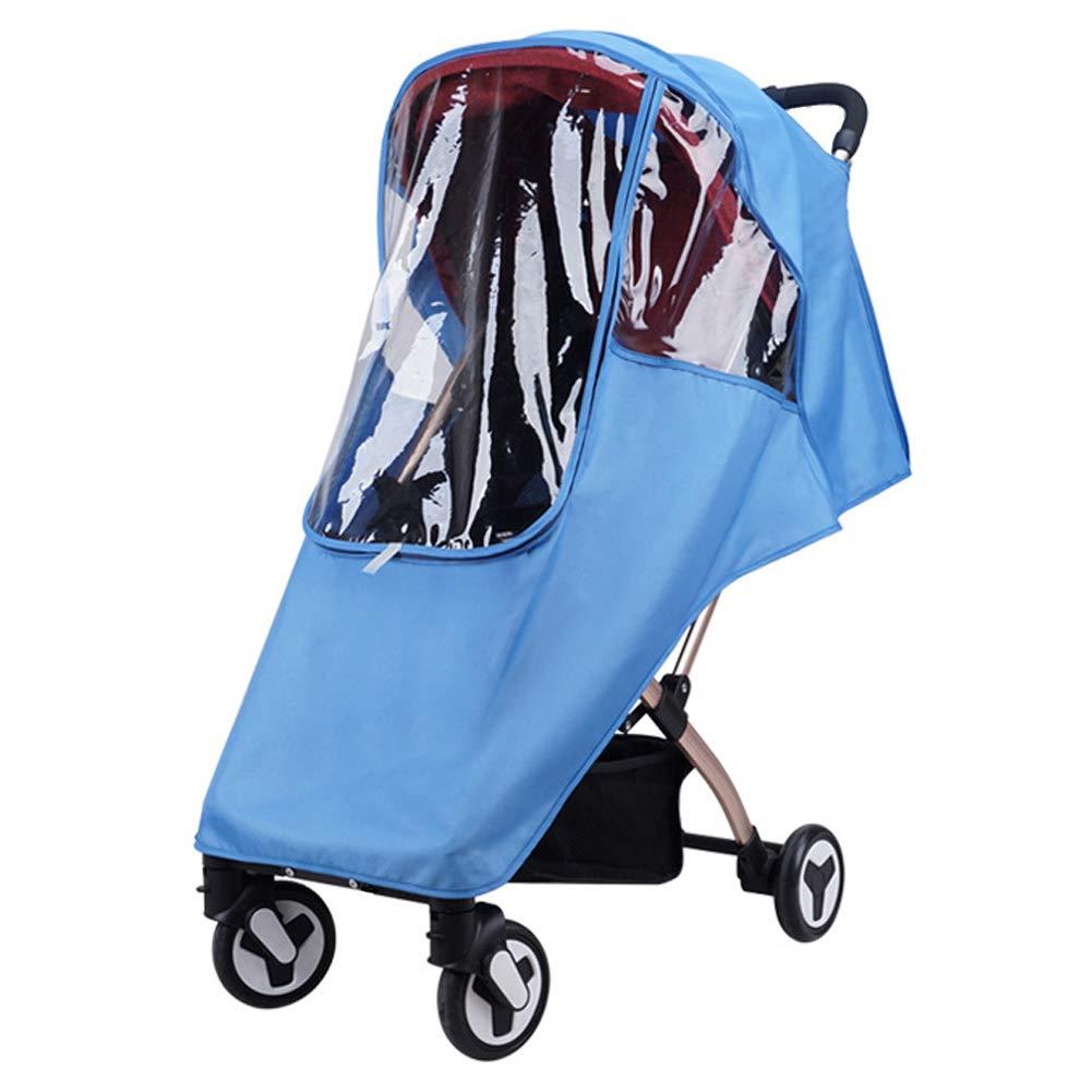 FAMKIT Baby Buggy Rain Cover Stroller Waterproof Rain Cover EVA Stroller Accessories Universal Wind Dust Shield