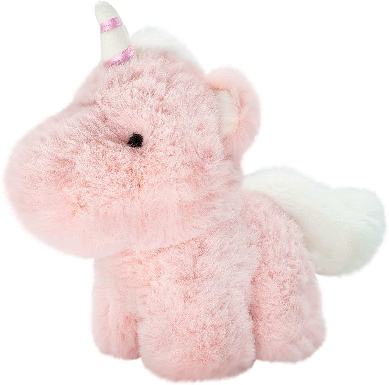 World's Softest Plush: 9 inch Pink Baby Unicorn Stuffed Animal