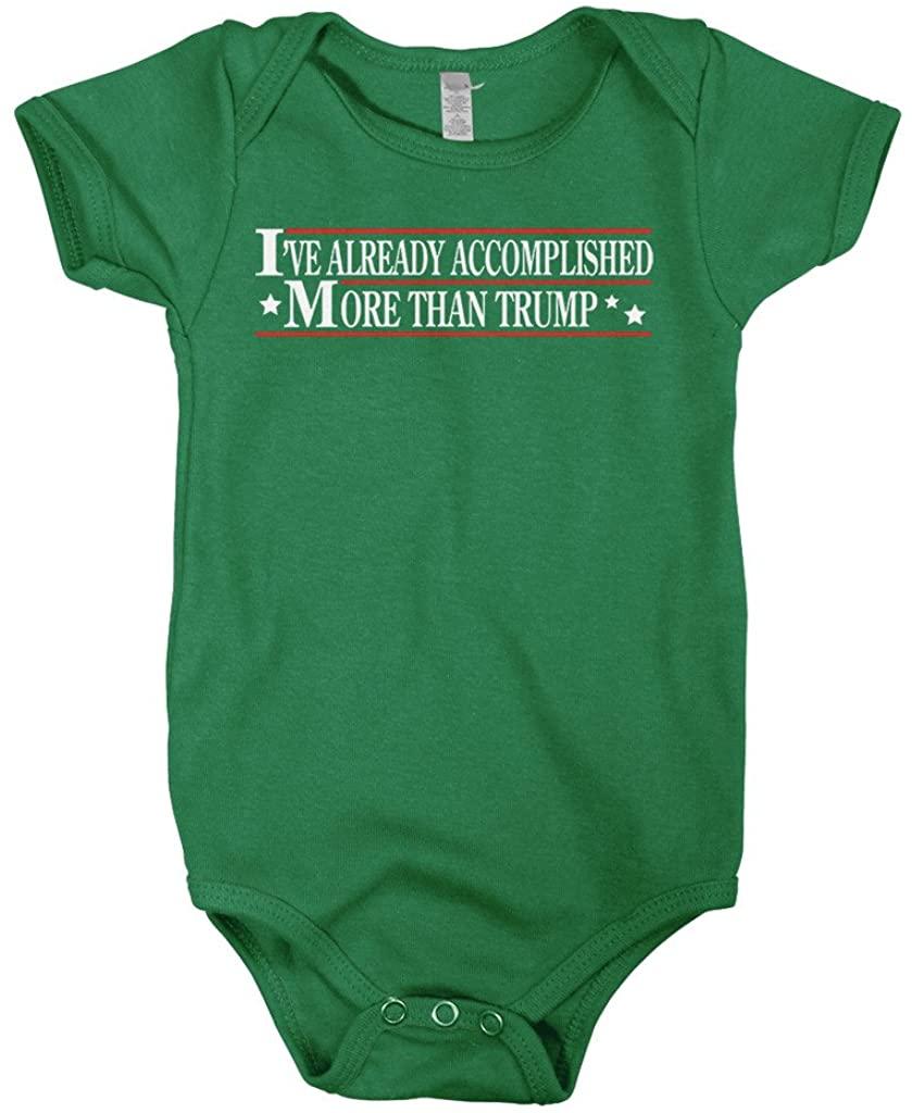 Mixtbrand Baby Boys Ive Already Accomplished More Than Trump Infant Bodysuit