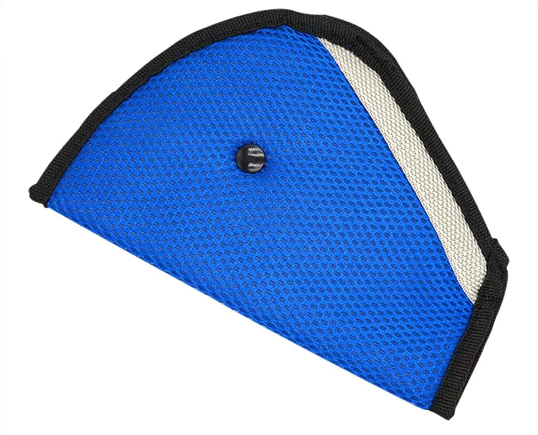 Window-pick 2 Pieces Car Child Seatbelt Regulator Seat Belt Adjuster for Kids Durable Washable Triangle seat Belt Adjuster for Kid and Adult Multiple Colors Available