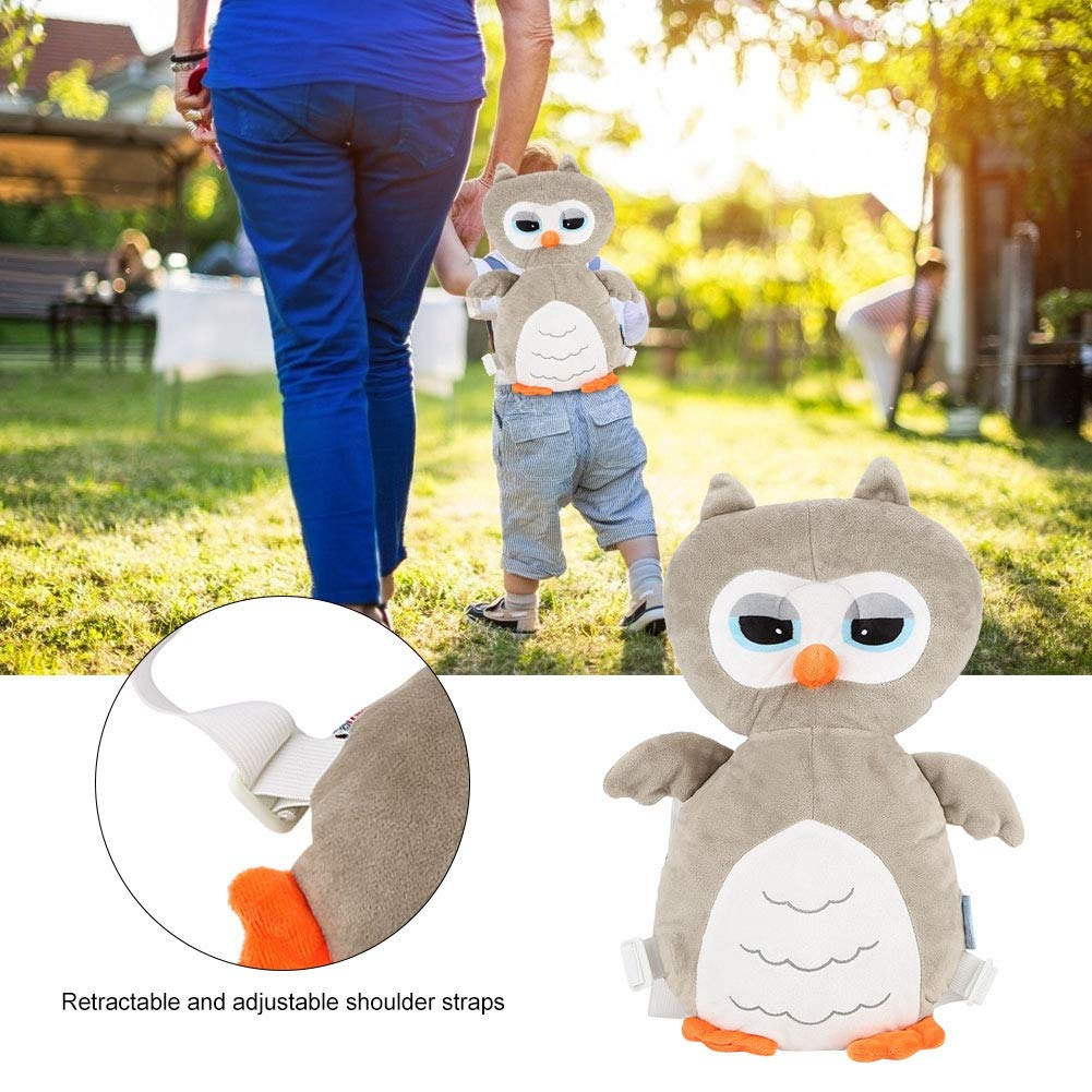 Toddler Pillow, Head Protector Backpack, Baby Protection Pillow, Adjustable PP Cotton Filling for Head Protection Head Protector Baby Accessory Baby Walk