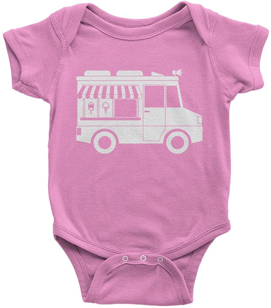 Threadrock Baby Ice Cream Truck Infant Bodysuit