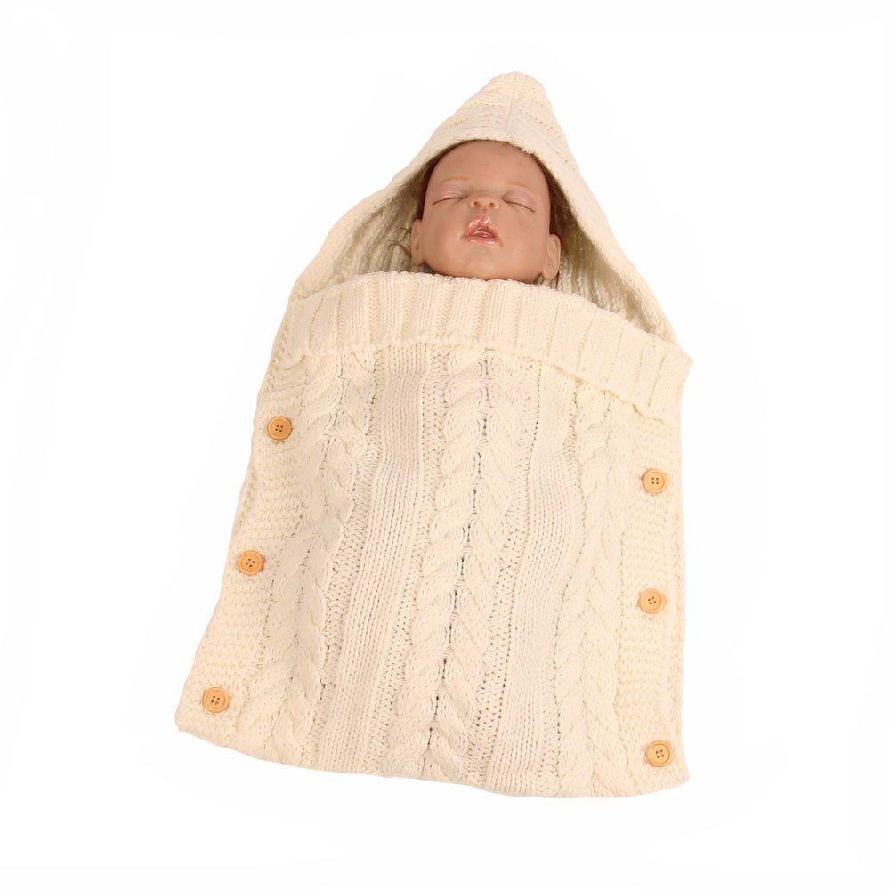 YEKEYI Unisex Baby Sleeping Sack Stroller Wrap Swaddle Blanket Warm Stroller Sleeping Bag for 0-12 Month Baby