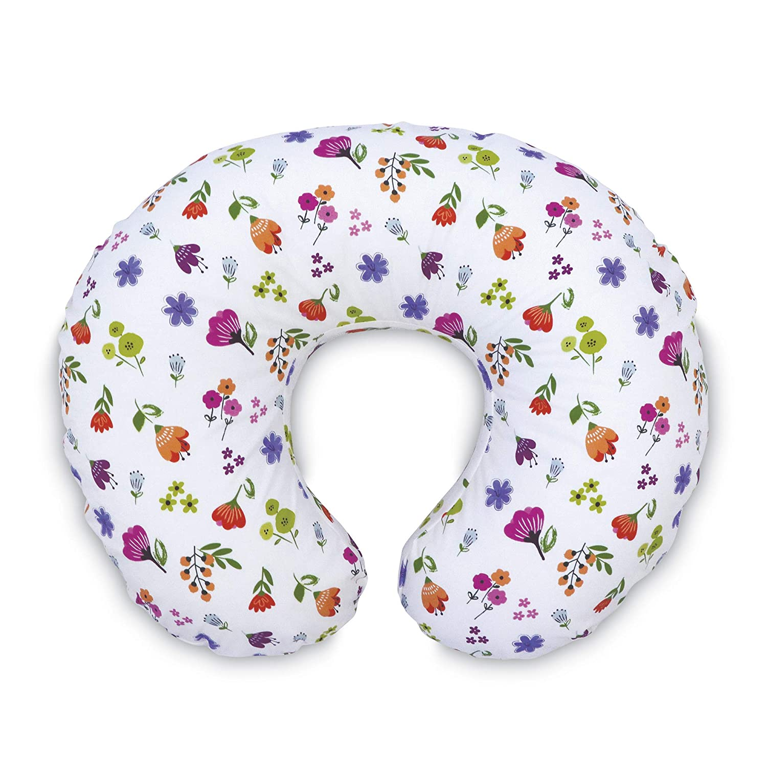 Boppy Original Nursing Pillow Cover, Bright Blooms, Cotton Blend Fabric with Allover Fashion, Fits All Boppy Nursing Pillows and Positioners
