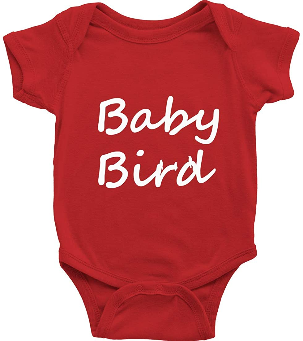 Bird Infant Baby Clothes Bodysuits Shower Gift Print Baby Bird New Newborn Baby