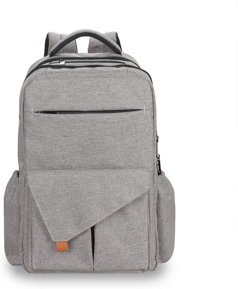YU-NIYUT Diaper Bag Backpack, Baby Diaper Backback Large Capacity Mummy Nappy Stroller Bag Multifunctional Travel Backpack for Mothers, Nurses, Students