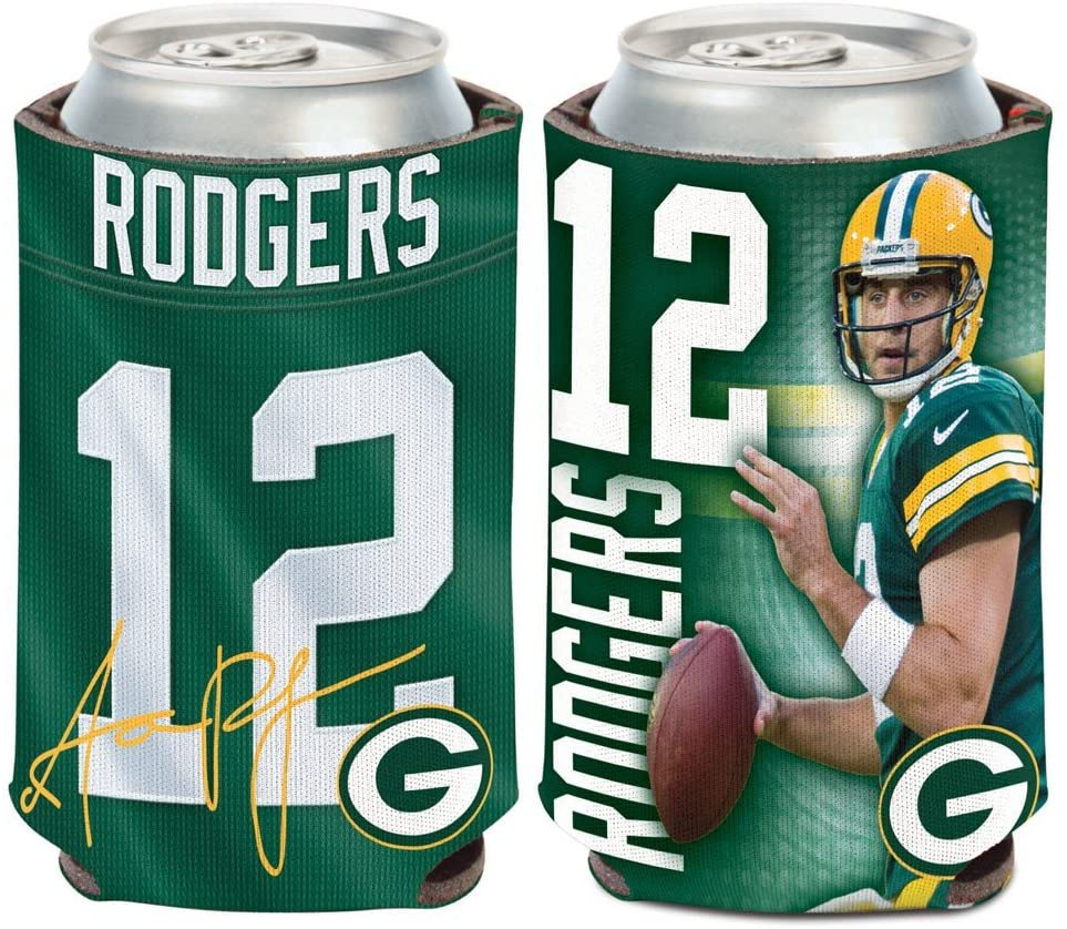 WinCraft NFL Green Bay Packers 14473115 Can Cooler, 12 oz