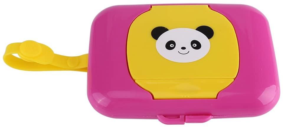 DaMohony Wet Wipes Box Baby Infant Outdoor Travel Stroller Tissue Case Dispenser