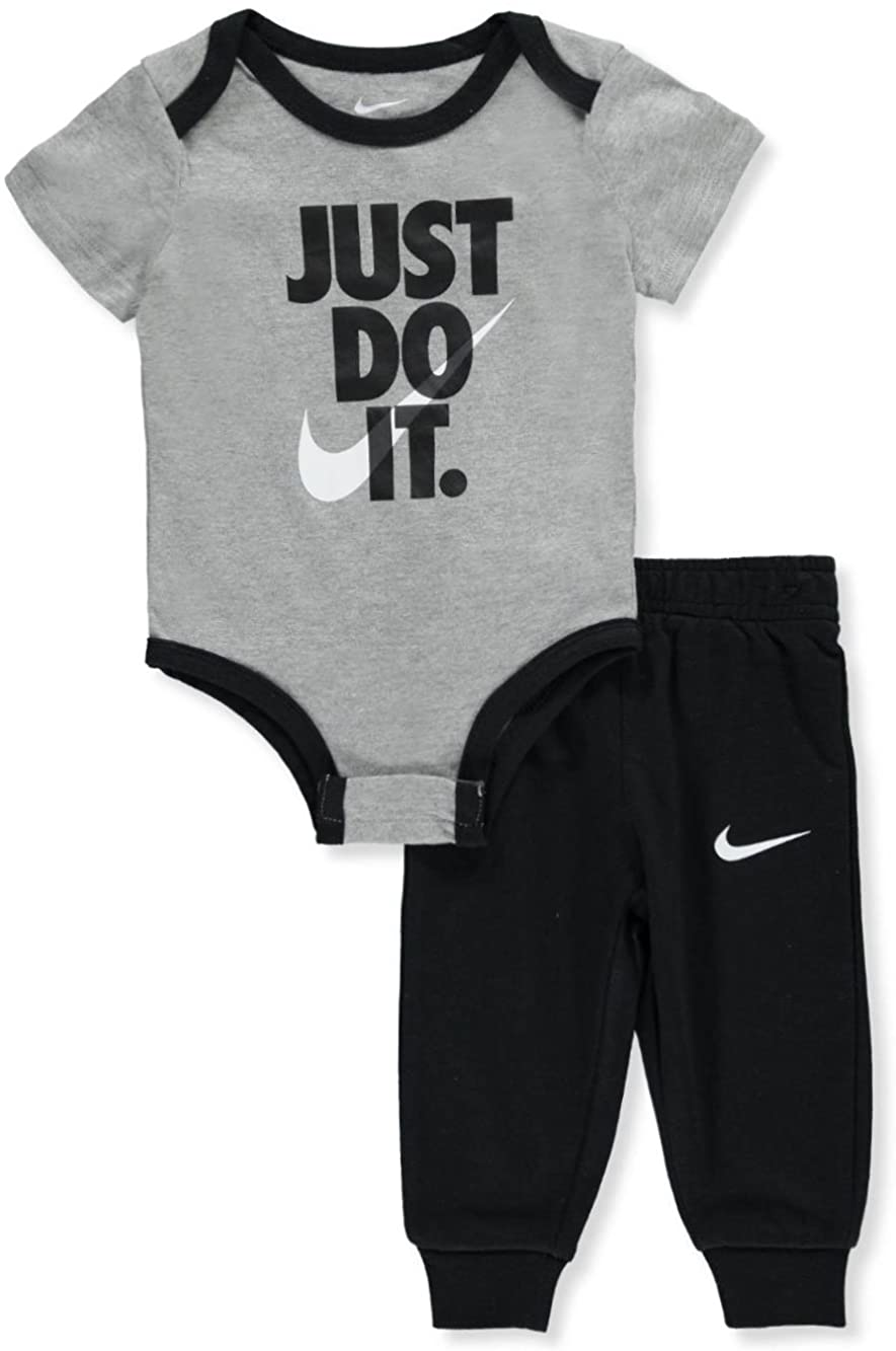 Nike Baby Boys 2-Piece Pant Set Outfit - Black, 6 Months