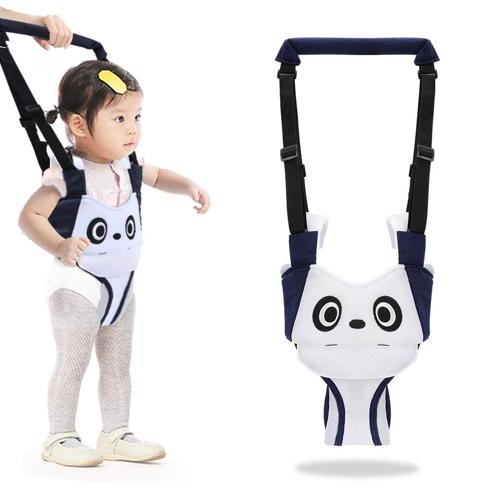 Accmor Baby Walker Helper Toddler Walking Harness, Adjustable Baby Walking Assistant Walking Wings, Breathable Pulling and Lifting Dual Use Walk Support for 6-18 Month Stand up & Walking (Panda)