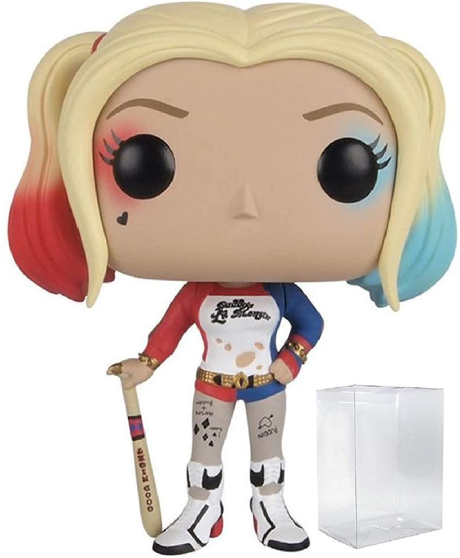 Funko Pop! DC Comics: Suicide Squad - Harley Quinn Funko Pop! Vinyl Figure (Includes Compatible Pop Box Protector Case)