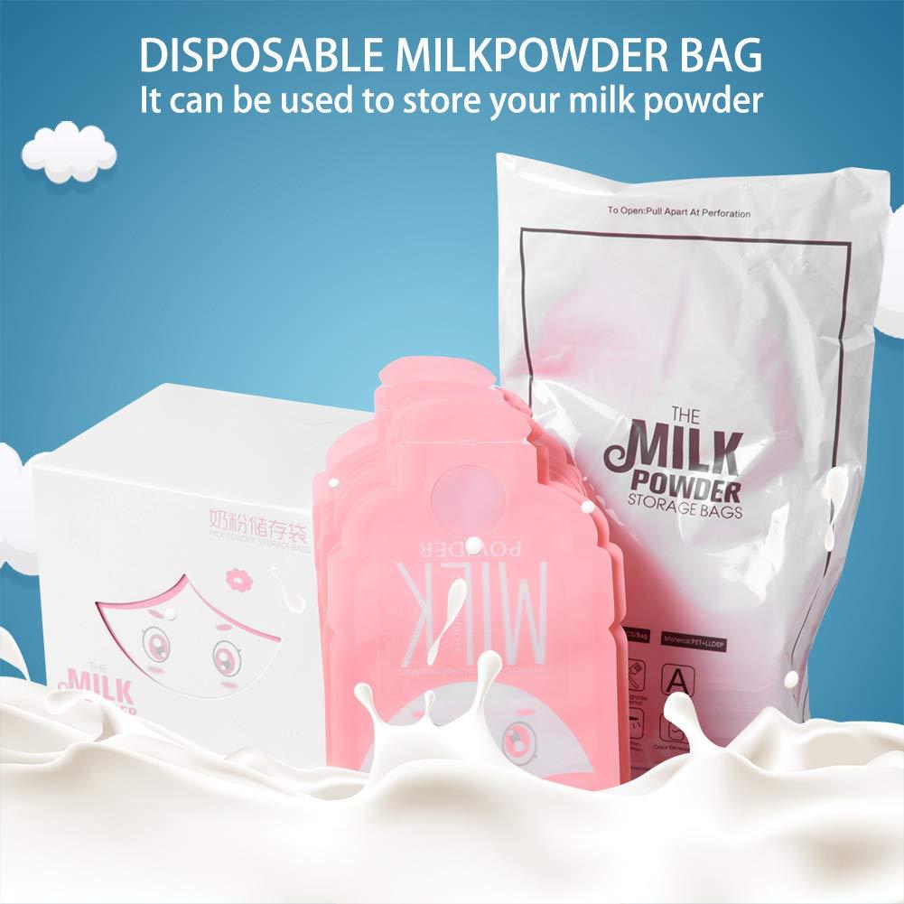hongxinq Disposable Safe Antistatic Portable Lightweight Milk Powder Storage Bag