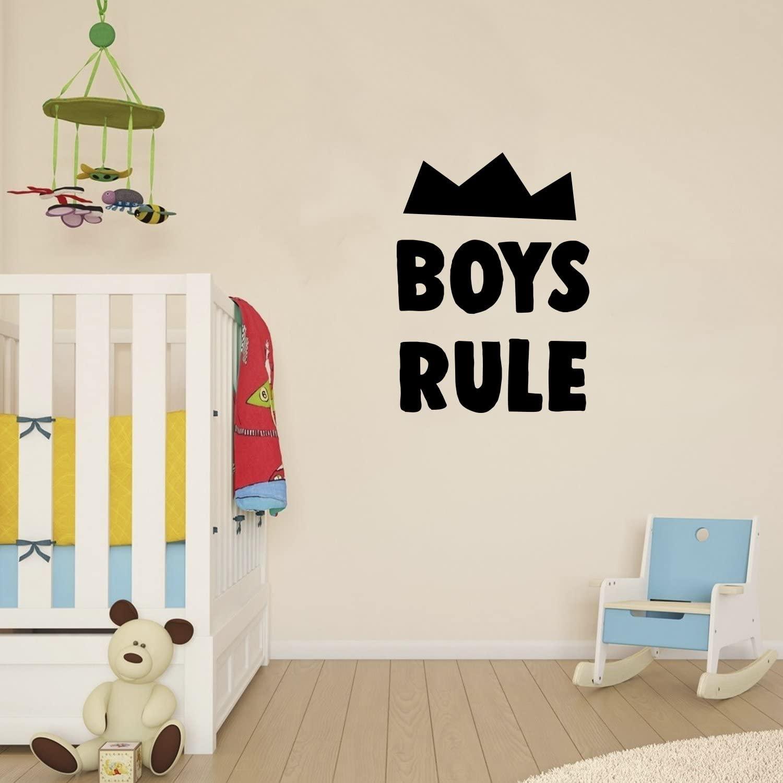 Wall Decal for Boys Bedroom - Boys Rule - 23