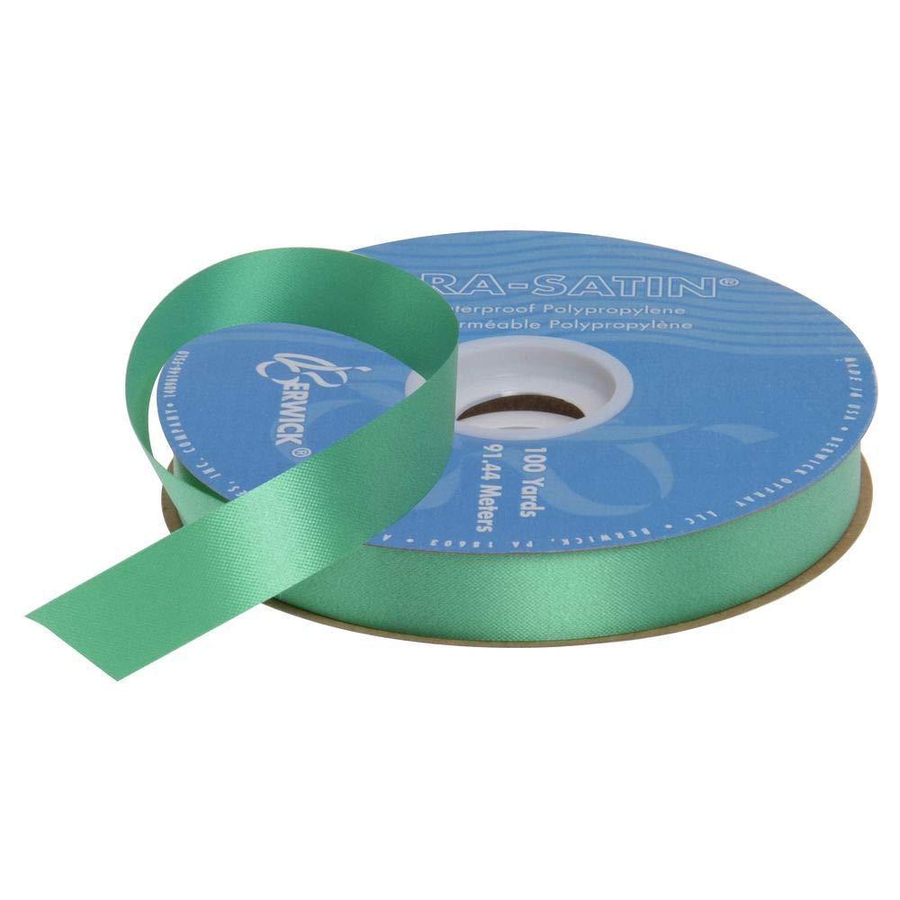 Gift Wrap Ribbon Emerald 7/8 (W) x 100 Yards