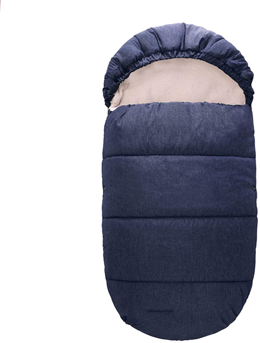 OhhGo Baby Bunting Bag Winter Stroller Windproof Warm Sleeping Bag Toddler Footmuff for Car Seat Stroller