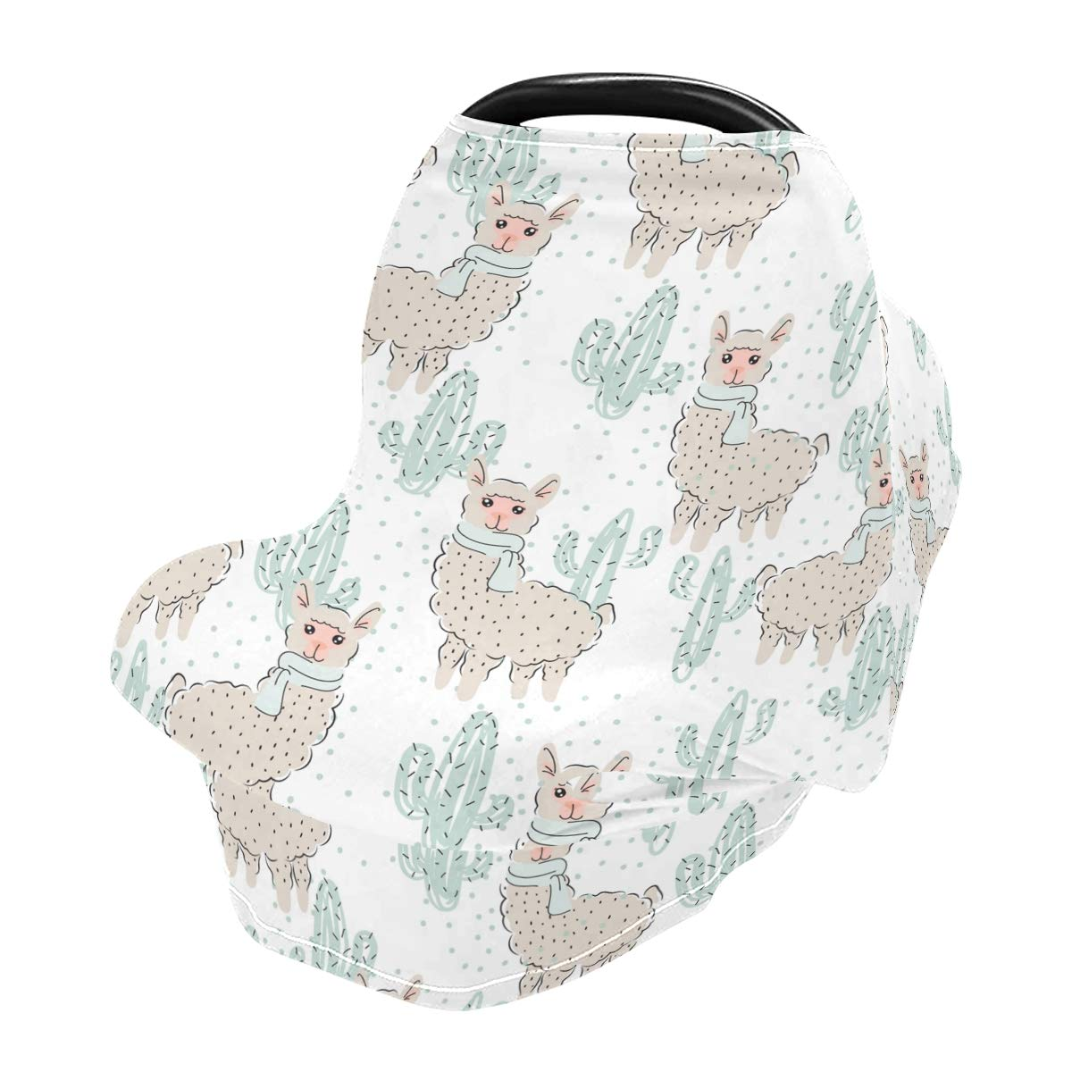 Nursing Cover Grey Sleep Breastfeeding Soft Carseat Canopy Multi Use for Baby Car Seat Covers Canopy Shopping Cart Cover Scarf Light Blanket Stroller Cover
