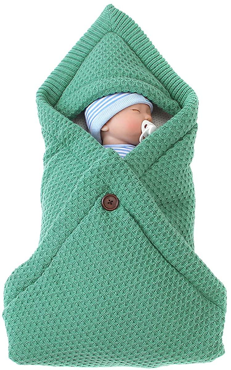 NCONCO Baby Sleep Sack Newborn Infant Swaddle Blanket Stroller Wrap Knitted Warm Envelope Sleeping Bag