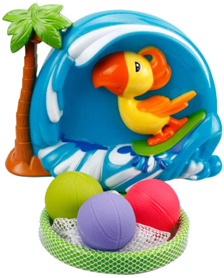 Kecar Bathtub Basketball Hoop and 3 Ball Children's Baby Shower Toy Gift Set, Preschool, Toys & Hobbies, Shipping from USA