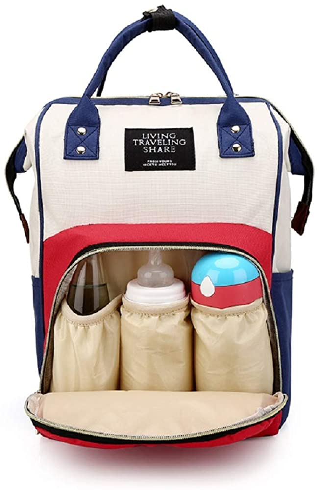 Diaper Bag Backpack for Mom Dad Tote Baby Care Bag with and Multifunctional Waterproof Baby Stuff Travel Backpack with Insulated Pockets and Large Maternity Baby Bags