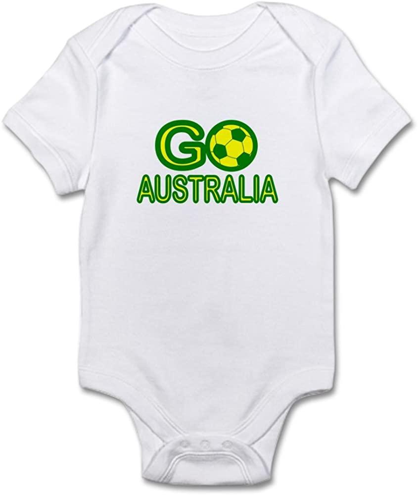 CafePress Go Australia Infant Bodysuit Baby Bodysuit