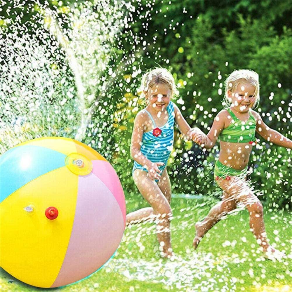 Kids Sprinkler Ball Inflatable Water Spray Ball Sprinkler Toys Kids Pool Lawn Beach Outdoor Playing