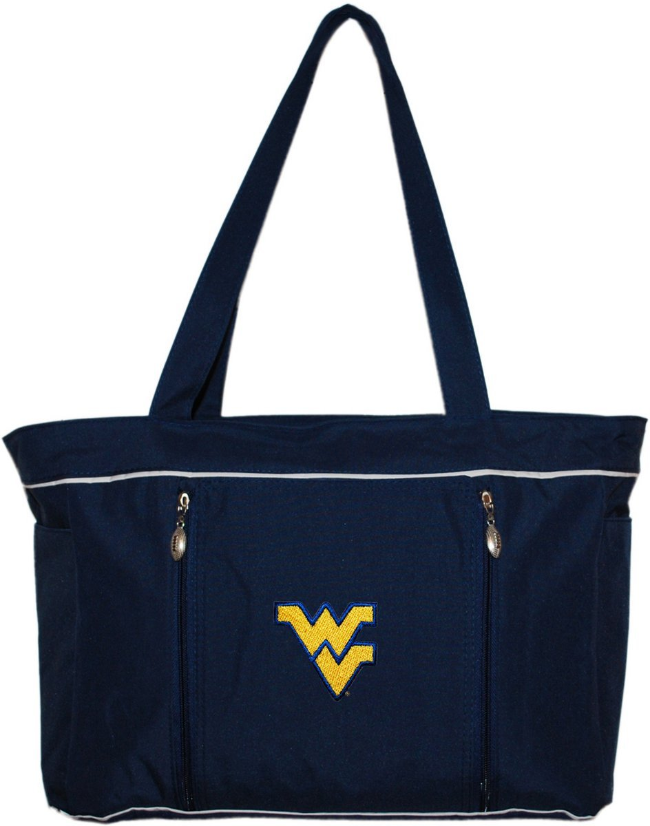 West Virginia University Diaper Bag with Changing Pad