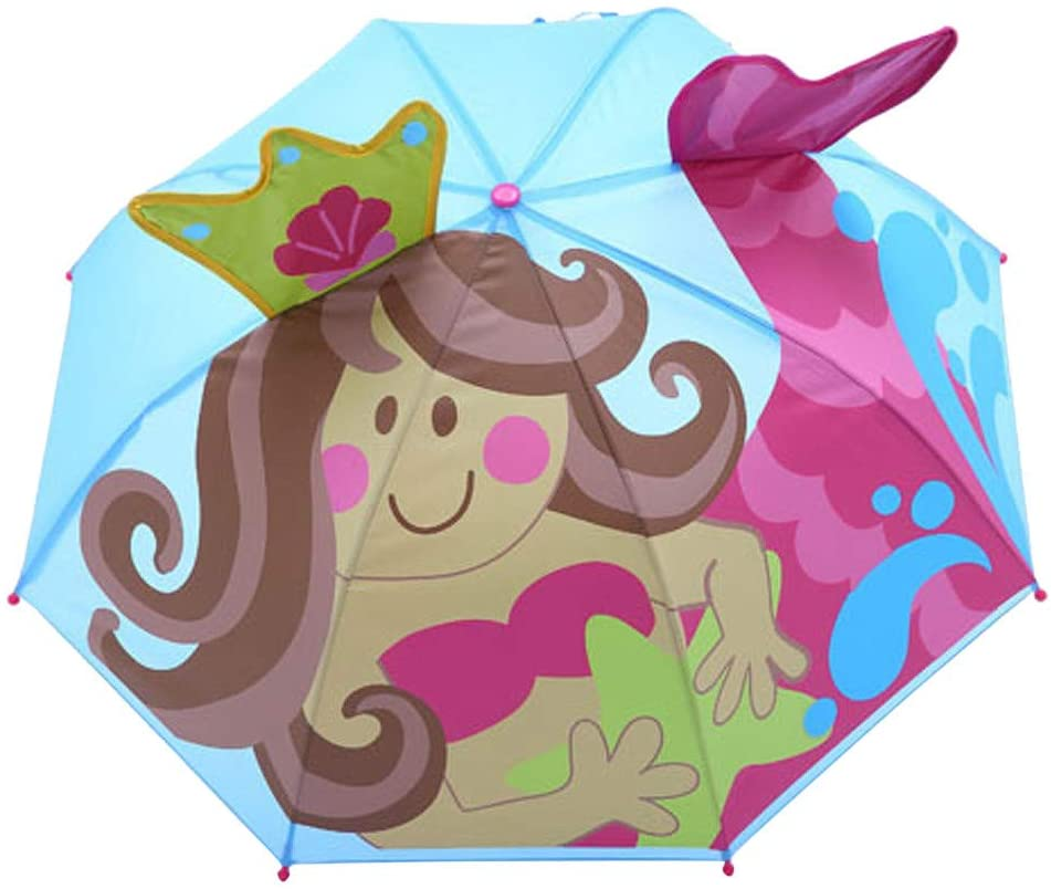 Ywoow Children's Cartoon Three-Dimensional Shape Umbrella Sunshade Baby Cover Parasol for Sun Rain Protection UV Rays 3D Cartoon